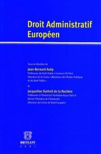 Droit administratif européen