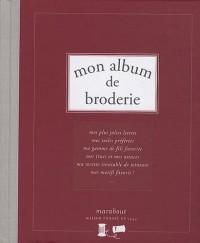 Mon album de broderie