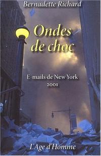 Ondes de choc : E-mails de New York 2001