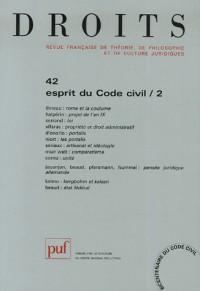 Droits, N° 42/2005 : L'Europe