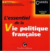 L'essentiel de la Vie politique française