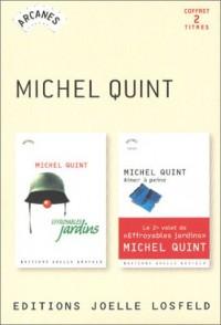 Coffret 2 titres Michel Quint : Effroyables jardins - Aimer à peine