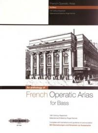Partitions classique EDITION PETERS FRENCH OPERATIC ARIAS FOR BASS - 19TH CENTURY REPERTOIRE - VOICE AND PIANO (PAR 10 MINIMUM) Choeur et ensemble vocal