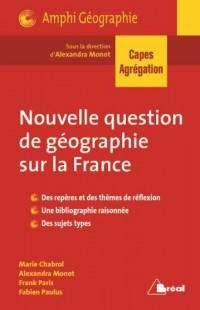 Nouvelle Question de Capes Histoire-Géo et de l'Agregation de Geographie