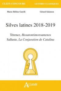 Silves latines 2018-2019 Térence, Heautontimoroumenos Salluste, La Conjuration de Catalina