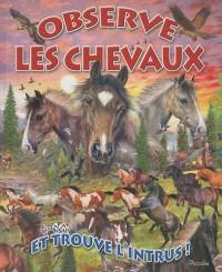 Observe les chevaux et trouve l'intrus !