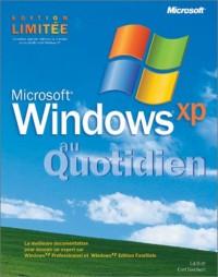 Microsoft Windows XP - Au Quotidien - livre de référence - français