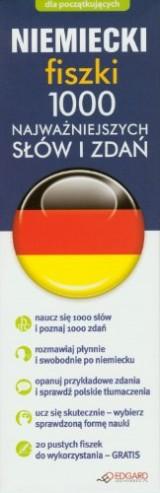 Niemiecki fiszki 1000  najwazniejszych slów i zdan