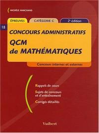 QCM de mathématiques : Concours administratifs