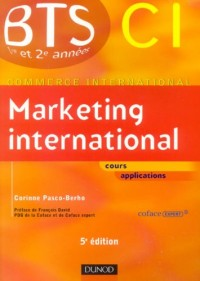 Marketing international BTS CI 1e et 2e années
