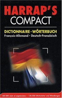 Harrap's Compact : Allemand/français, français/allemand