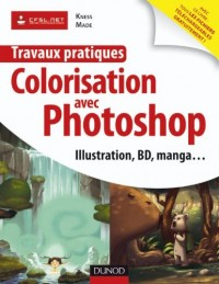 Travaux pratiques de colorisation avec Photoshop : Illustration, BD, manga...