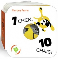 1 chien, 10 chats!