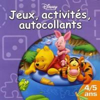 Winnie l'Ourson : Jeux, activités, autocollants  4/5 Ans