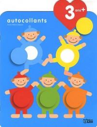 Je grandis avec les autocollants : 3 ans et + - Les acrobates