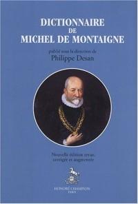 Dictionnaire de Michel de Montaigne