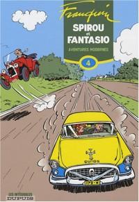 Spirou et Fantasio, l'intégrale tome 4 : Aventures modernes