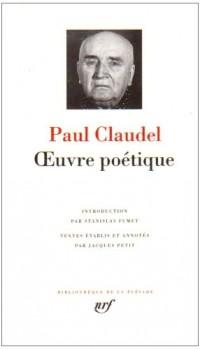 Paul Claudel : Oeuvre poétique
