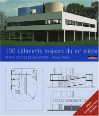 100 batiments célèbres du XXe siècle : Plans, coupes et élévations (1Cédérom)
