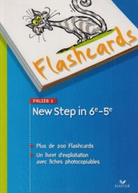 New Step in - Anglais 6e/5e Palier 1 A1+ / A2, Flashcards