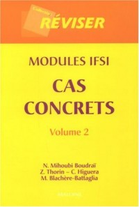 Cas concrets modules IFSI : Volume 2