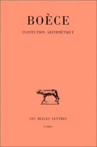 Institution arithmétique
