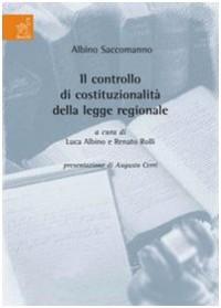 Il controllo di costituzionalità della legge regionale