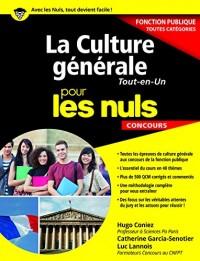 La Culture générale pour les Nuls Concours - Fonction publique, nouvelle édition
