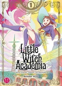 Little Witch Academia T01