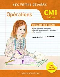 Les petits devoirs opérations CM1