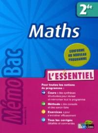 Maths 2e Mémobac l'essentiel