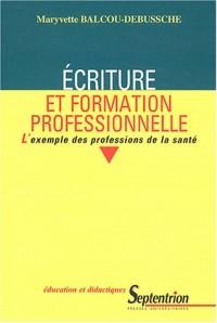 Ecriture et formation professionnelle : L'exemple des professions de la santé