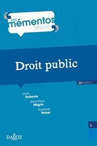 Droit public - 22e éd.