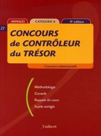 Concours de contrôleur du Trésor : Annales catégorie B