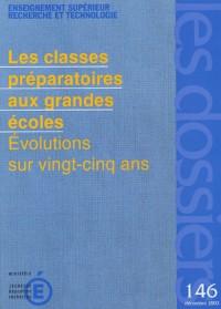 Les dossiers, N° 146, Décembre 2003 : Les classes préparatoires aux grandes écoles : Evolution sur vingt-cinq ans