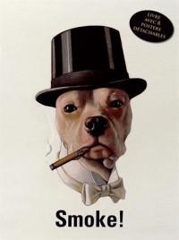 Smoke ! Livre avec 8 posters détachables publicitaires rétro