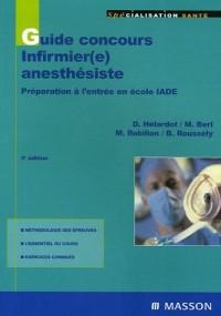 Guide concours infirmier(e) anesthésiste