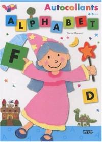 Autocollants Alphabet : Fée - Dès 3 ans (album)