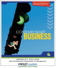 Contemporary Business (Berkeley College) 13th Edition Boone and Kurtz