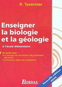 Enseigner la biologie et la géologie : A l'école élémentaire