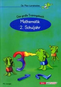 Die Maxi-Lerndrachen, neue Rechtschreibung, Mathematik 2. Schuljahr, EURO (Livre en allemand)