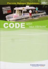 Code option : Code Rousseau permis fluvial