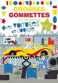 Les voitures de course : Avec plus de 130 gommettes