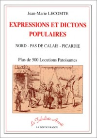 Expression dictons populaires du nord