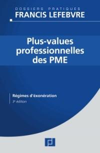 Plus-values professionnelles des PME : Régimes d'exonération