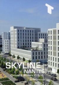 L'Immeuble Skyline a Nantes - Cirmad et Ateliers 234
