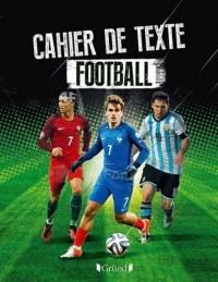 Cahier de texte football