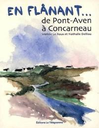 En Flanant. de Pont-Aven a Concarneau