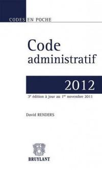 Code Administratif 2011, Troisième Edition