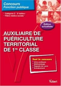 N 95 auxiliaire de puériculture territorial 1re classe, catégorie c